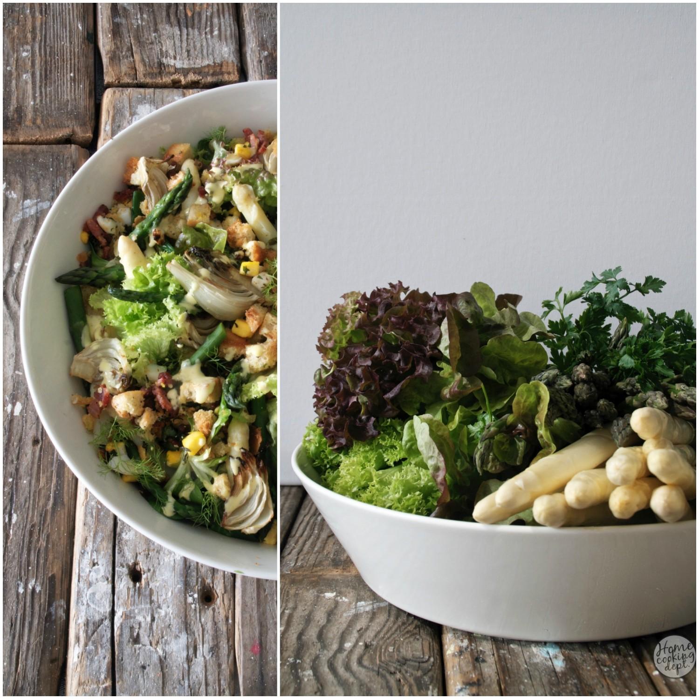 asperge salade / Homecooking dept.