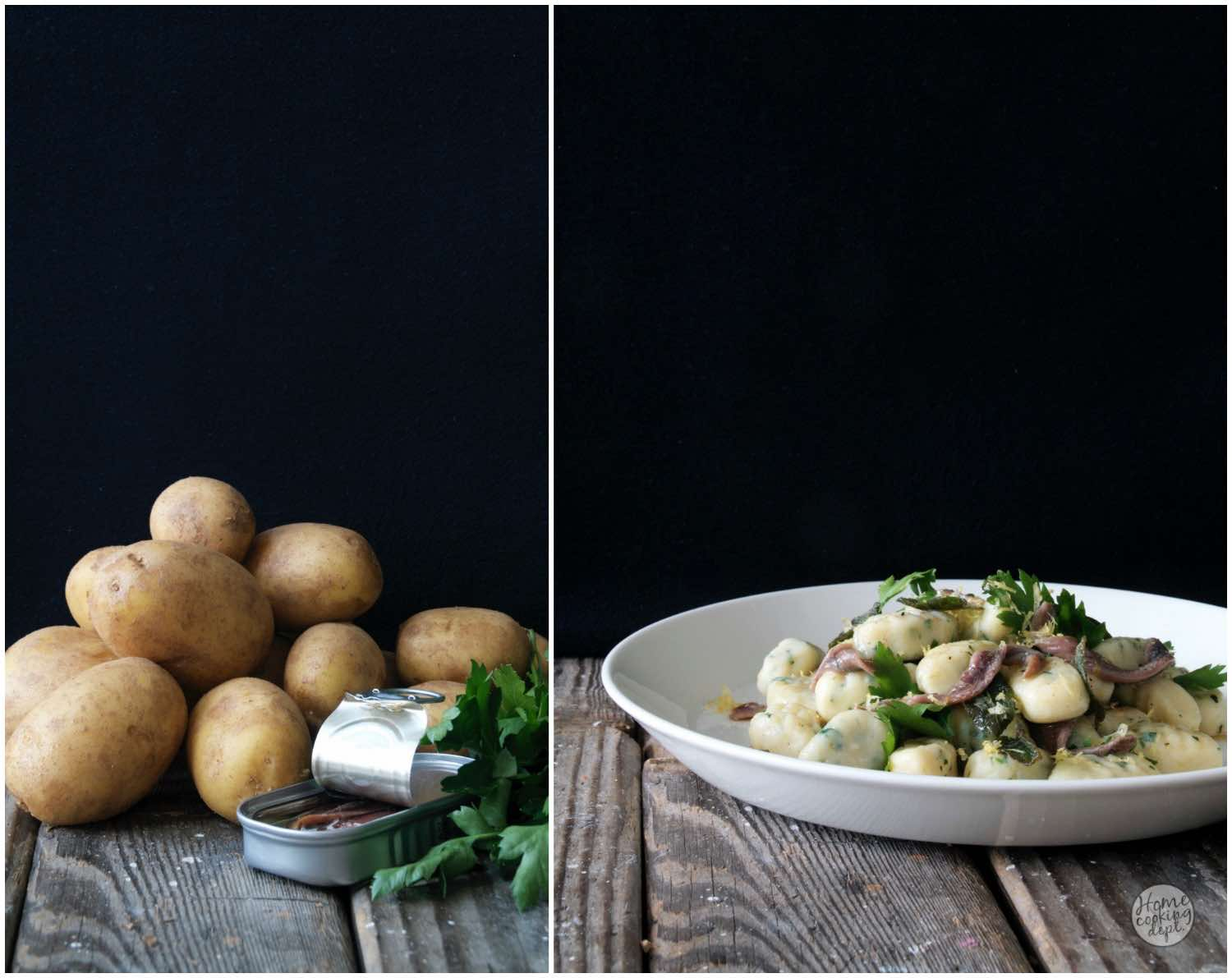 Ansjovis Gnocchi / Interview Bart van Olphen / Homecooking dept