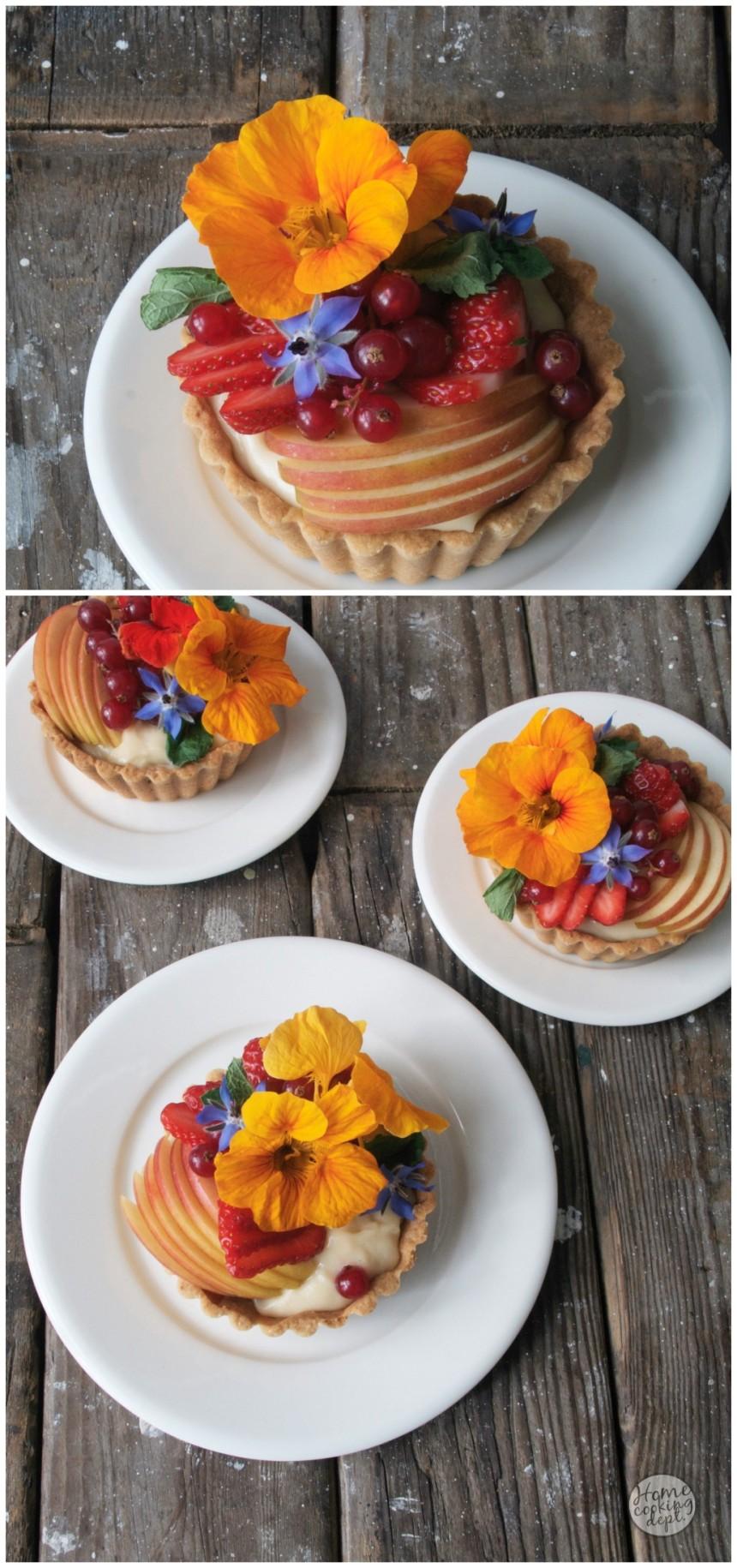 Mini fruittaartjes / Homecooking dept.