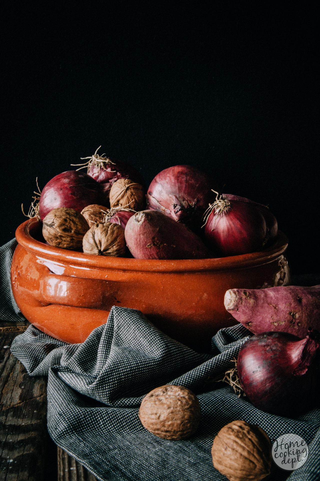 geroosterde zoete aardappel / Homecooking dept.
