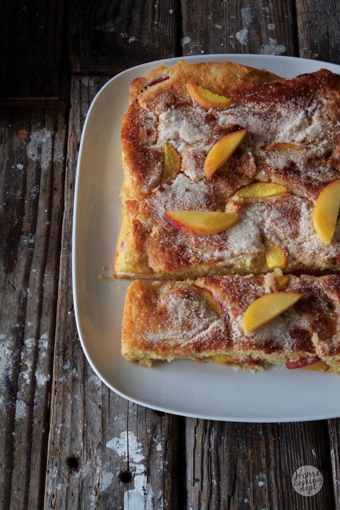 perzik cake / Homecooking dept