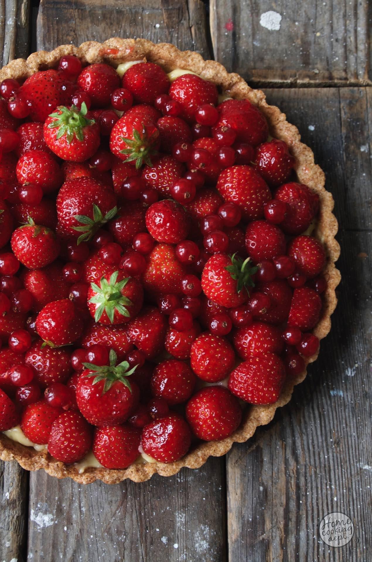 Hoe jij in 4 stappen een prachtige Aardbeientaart maakt