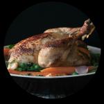 Kip met voorjaarsgroenten / Homecooking dept.