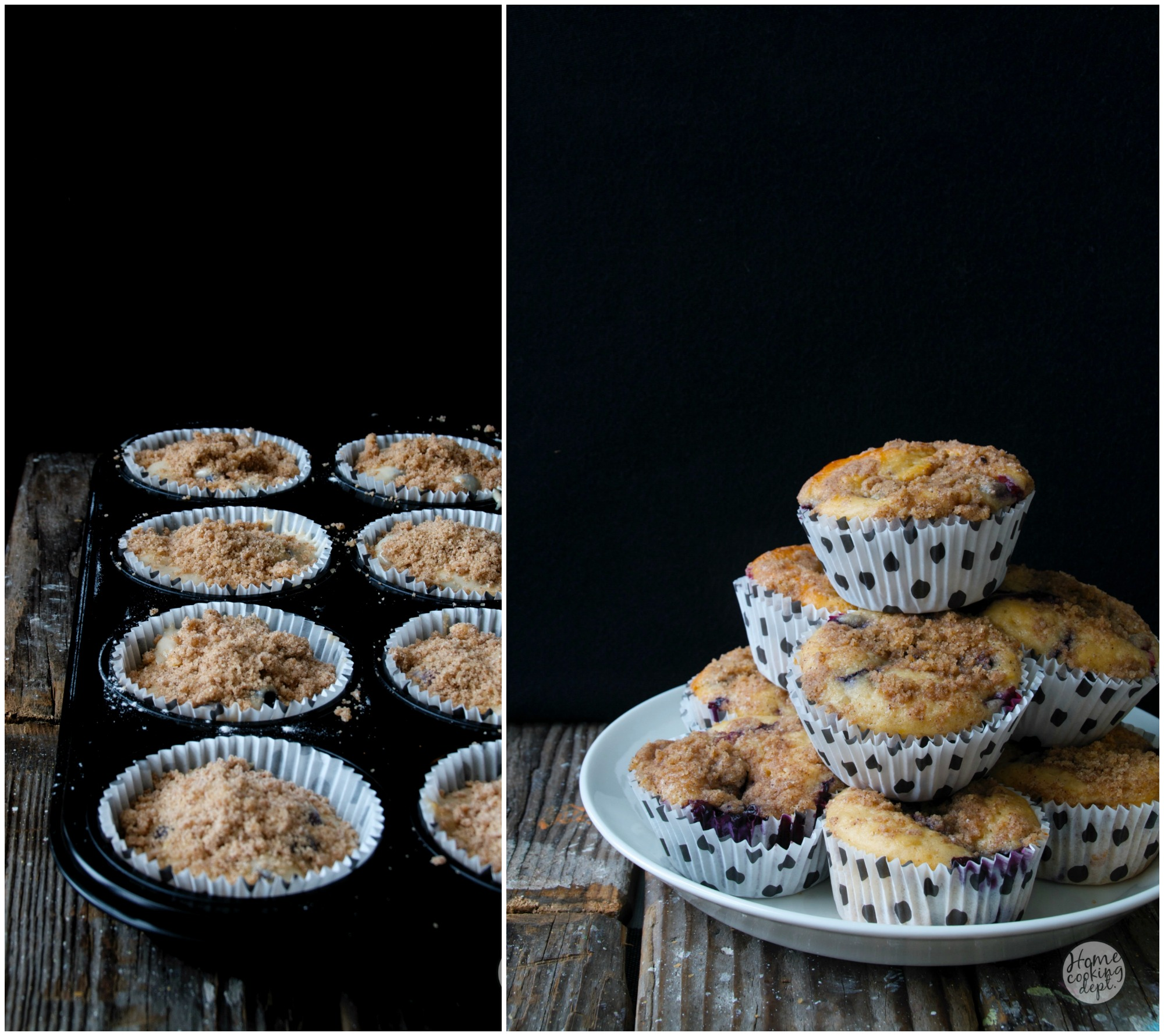 Ontbijt muffin collage / Homecooking dept.