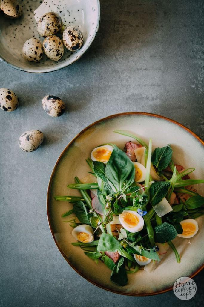 Snijbonen recept met een twist: frisse snijbonen salade / Photography by Homecooking dept.