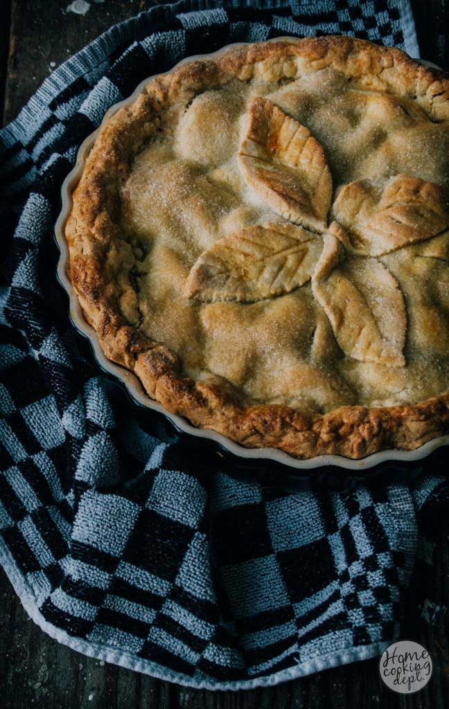 Comfort apple pie
